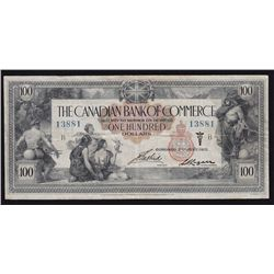 1917 Bank of Commerce $100.