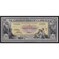 1917 Bank of Commerce $20.