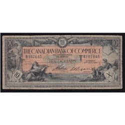 1917 Canadian Bank of Commerce $10.