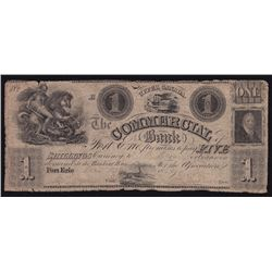 1837 The Commercial Bank $1.