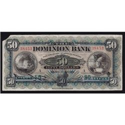 1925 Dominion Bank $50.