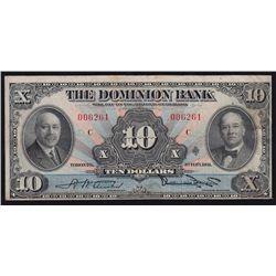 1931 Dominion Bank $10.