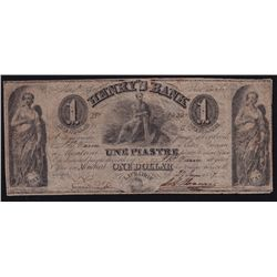 1837 Henry's Bank $1.