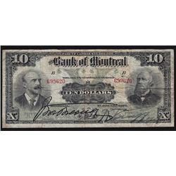 1904 Bank of Montreal $10.