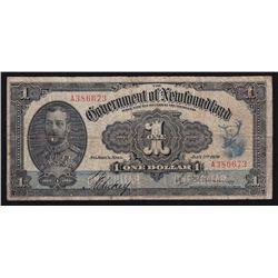 1920 Newfoundland $1.