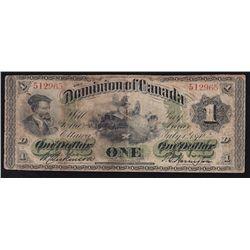 1870 Dominion of Canada $1.