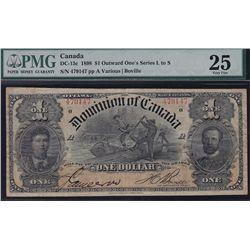 1898 Dominion of Canada $1.