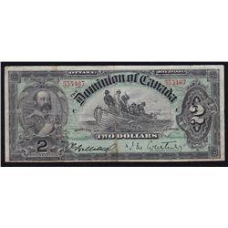 1897 Dominion of Canada $2.