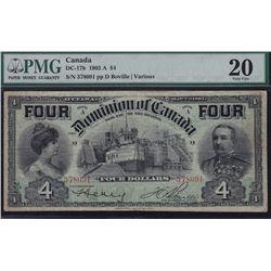 1902 Dominion of Canada $4.
