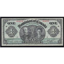 1911 Dominion of Canada $1.