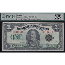1923 Dominion of Canada $1.