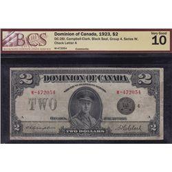 1923 Dominion of Canada $2.