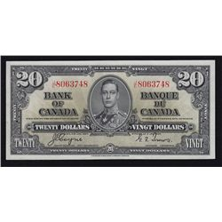 1937 Bank of Canada $20.