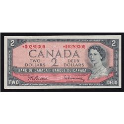1954 Bank of Canada $2.