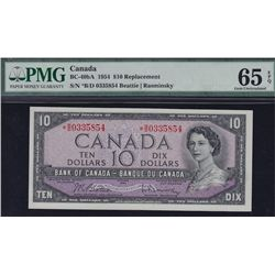 1954 Bank of Canada $10.