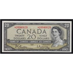 1954 Bank of Canada $20.