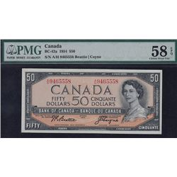 1954 Bank of Canada $50.