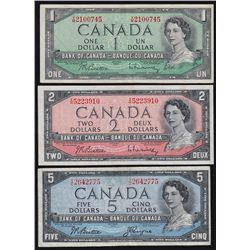 1954 Bank of Canada $1 - $100 Set.