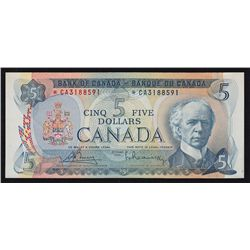 1972 Bank of Canada $5.