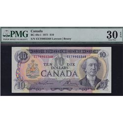 1971 Bank of Canada $10.