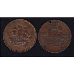 Lot of 2 PEI Tokens.