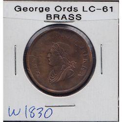 George Ords.