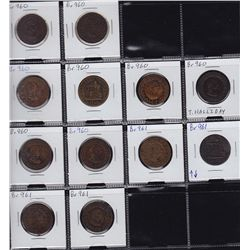 Tiffin Lot of 12 Tokens.