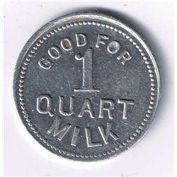 Good for 1 Quart Milk.