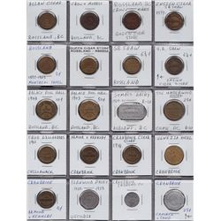 Lot of 72 BC Tokens.