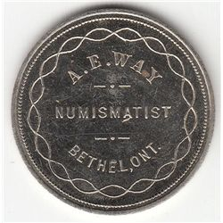 Numismatist Card.