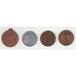 Lot 4 H. Barnard Advertising Medals.