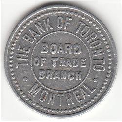 The Bank of Toronto, Montreal.