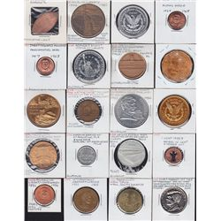 Large lot of 372 Tokens and Medallions for USA