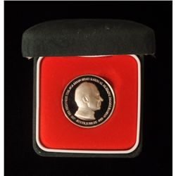 1982 Aga Khan Silver Jubilee Commemorative Proof Silver Medallion