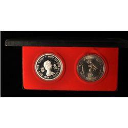 1952-1977 Four Governor General Medallion Set