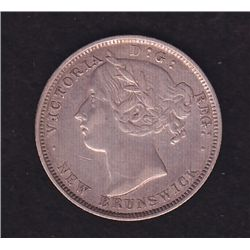 1862 New Brunswick Twenty Cent