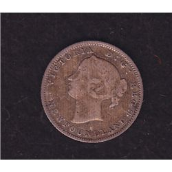 1865 Newfoundland Five Cent