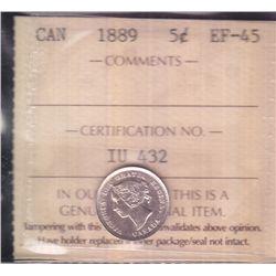 1889 Five Cent