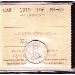 1919 Ten Cent