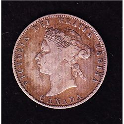 1871H Twenty Five Cent