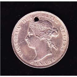 1872H Twenty Five Cent