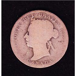 1889 Twenty Five Cent
