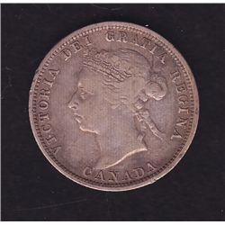 1890H Twenty Five Cent