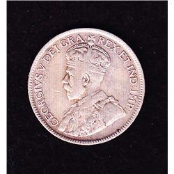 1927 Twenty Five Cent