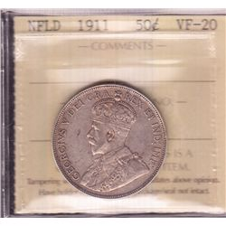 1911 Newfoundland Fifty Cent