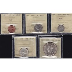 1935 ICCS Graded Set.