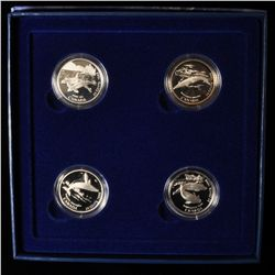 1998 Ocean Giants Silver Fifty Cent Set