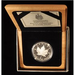 1989 Proof Silver Maple Leaf