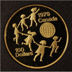 1979 $100 Gold Year of the Child