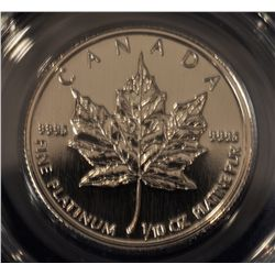 1993 Platinum Five Dollar Maple Leaf